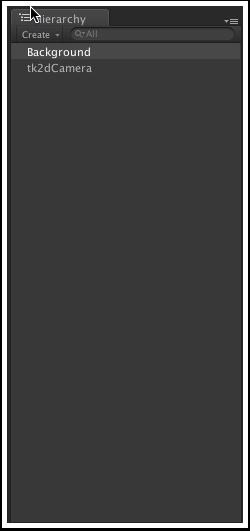提交完成后的Hierarchy窗口