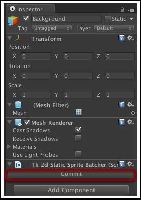 提交Static Sprite Batcher的修改