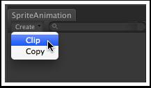 创建动画剪辑