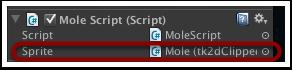 脚本中的Sprite添加完成